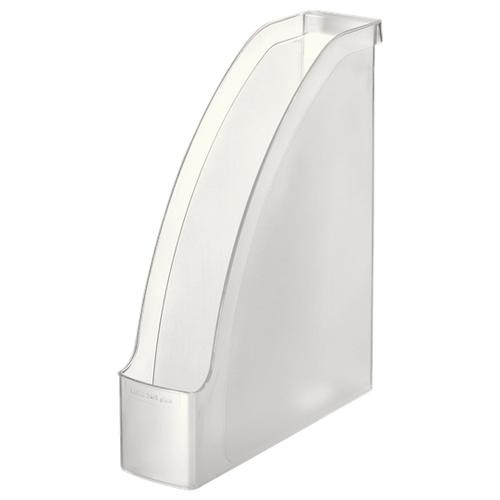 Лоток вертикальный для бумаги Leitz Plus прозрачный