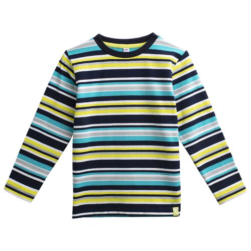 Лонгслив playToday размер 116, серый/голубой/зеленыйФутболки и майки<br>