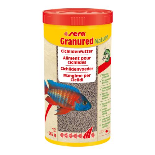 Сухой корм для рыб Sera Granured Nature 1000 мл 565 г