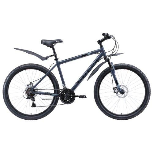 Горный (MTB) велосипед STARK Outpost 26.1 D (2020) серый/черный 18 (требует финальной сборки) горный mtb велосипед merida big seven 20 d 2020 silk medium blue silver yellow 17 требует финальной сборки