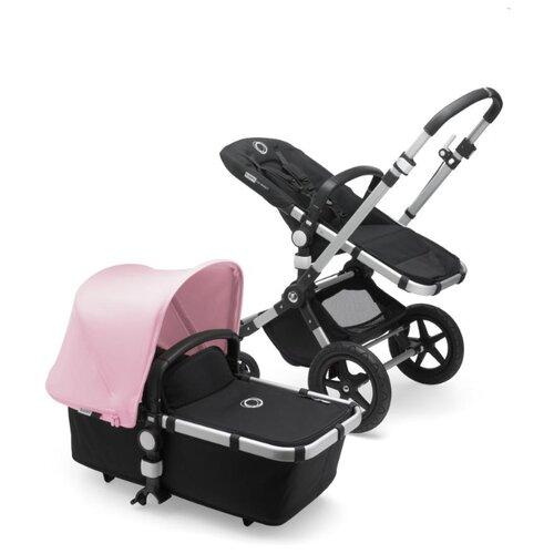 Универсальная коляска Bugaboo Cameleon3 Plus (2 в 1) alu/black/soft pink, цвет шасси: серебристый