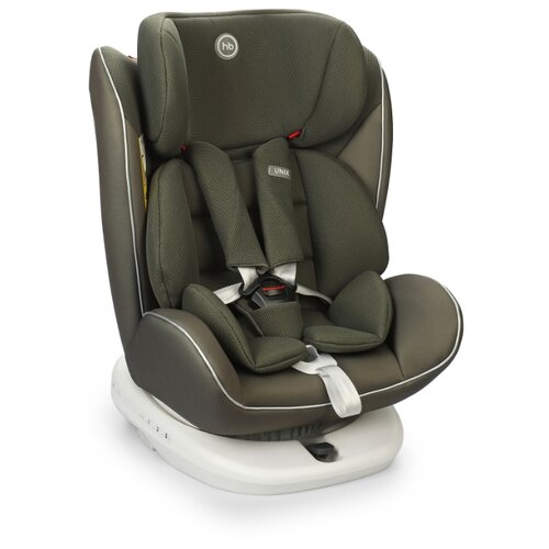 Автокресло группа 0/1/2/3 (до 36 кг) Happy Baby Unix Isofix, dark green группа 0 1 2 3 от 0 до 36 кг happy baby unix с подушкой на ремень сплюшка protectionbaby