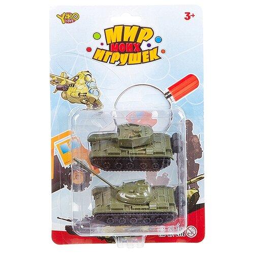 Фото - Набор техники Yako Мир моих игрушек (B93181) хаки набор машин yako мир моих игрушек m7558 1 белый