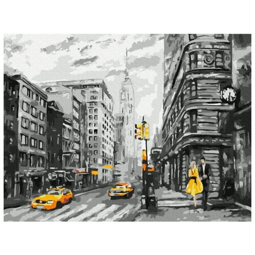 Купить Картина по номерам Molly 30х40 см Нью-Йорк, Картины по номерам и контурам