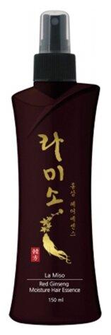 La Miso Увлажняющая эссенция для волос с экстрактом красного женьшеня, 150 мл