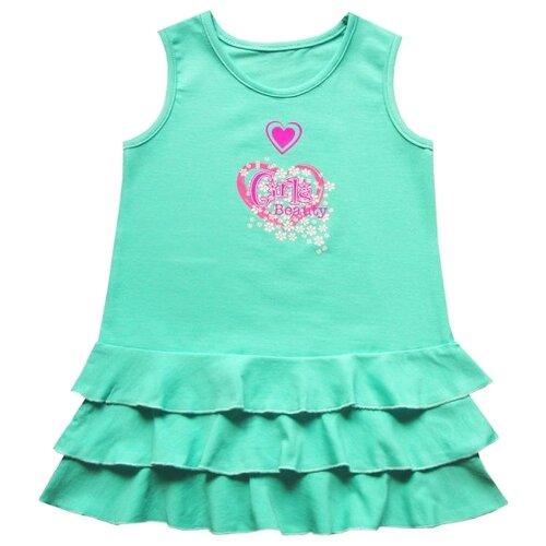 Платье ПАНДА дети размер 98, ментоловыйПлатья и сарафаны<br>