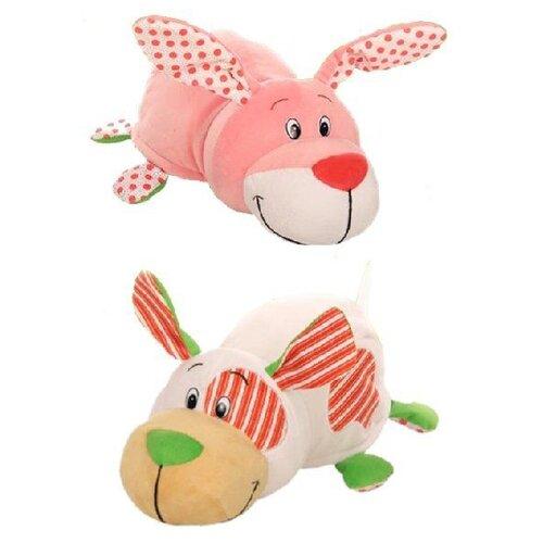 Купить Мягкая игрушка 1 TOY Вывернушка Ням-Ням Зайчик-Собачка с ароматом 40 см, Мягкие игрушки