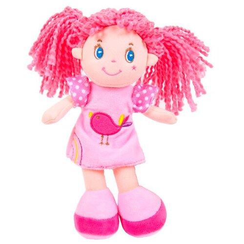 Фото - Мягкая игрушка ABtoys Кукла с розовыми волосами в розовом платье 20 см мягкая игрушка abtoys кукла рыжая в голубом платье 20 см