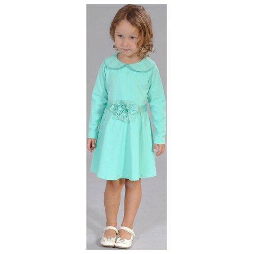 Платье Fleur de Vie размер 86, светло-зеленый
