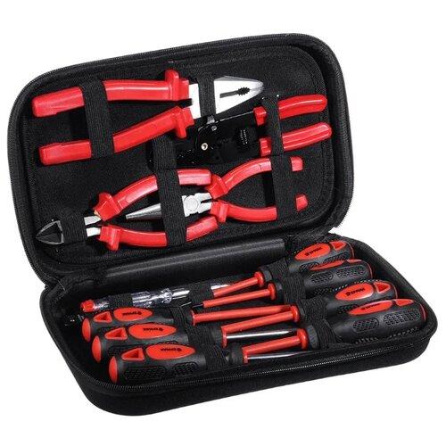 Набор электромонтажного инструмента Ермак (13 шт.) D9968-2Наборы инструментов и оснастки<br>
