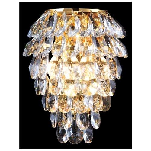 Настенный светильник Crystal Lux Charme AP2+2 LED Gold/Transparent недорого