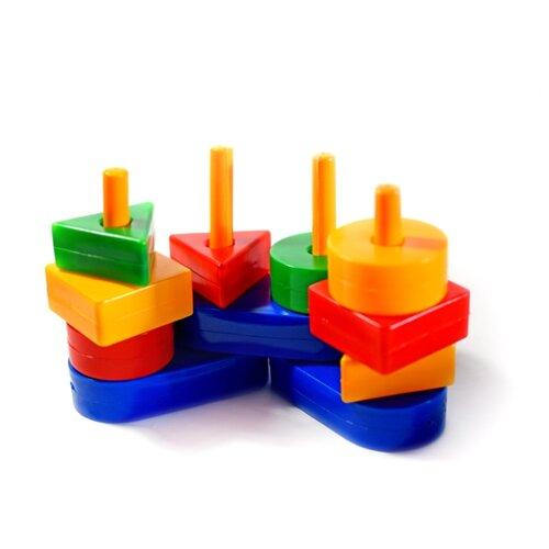 Купить Пирамидка KDM Логика & Интеллект Логическая цепочка, Пирамидки