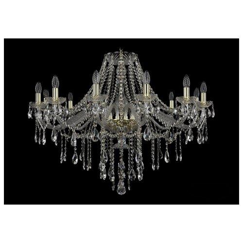 Фото - Люстра Bohemia Ivele Crystal 1415 1415/12/360/G, E14, 480 Вт люстра bohemia ivele crystal 7201 72301 12 360 b g e14