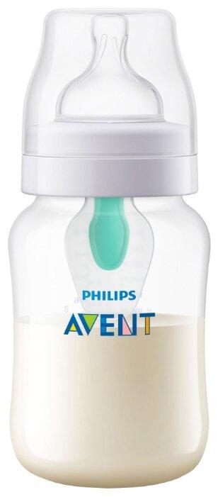 Philips AVENT Бутылочка полипропиленовая Anti-colic c клапаном AirFree™ SCF813/14, 260 мл с 1 мес.