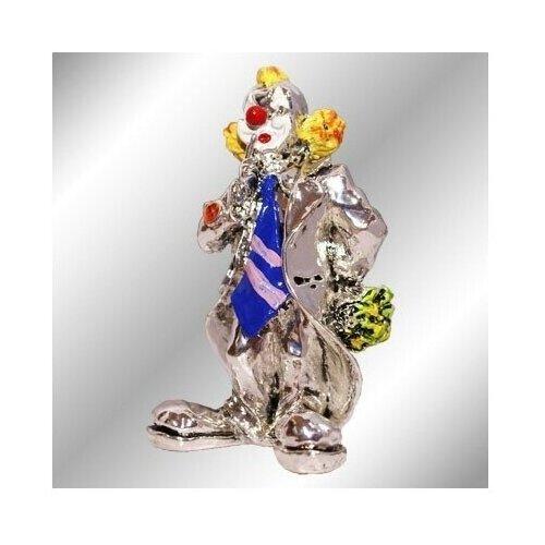 Фигурка Клоун с цветами Argenti Piu 676 9 см