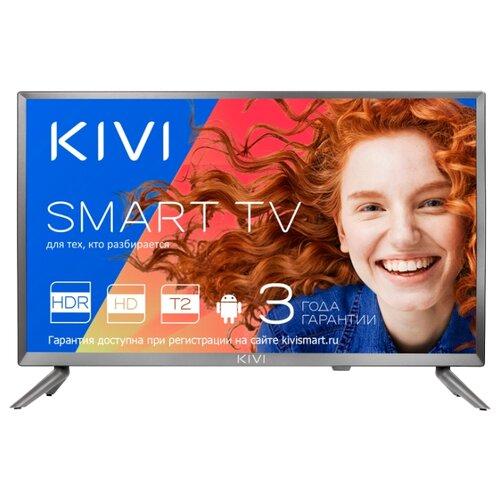 Купить Телевизор Kivi 24HR52GR серый