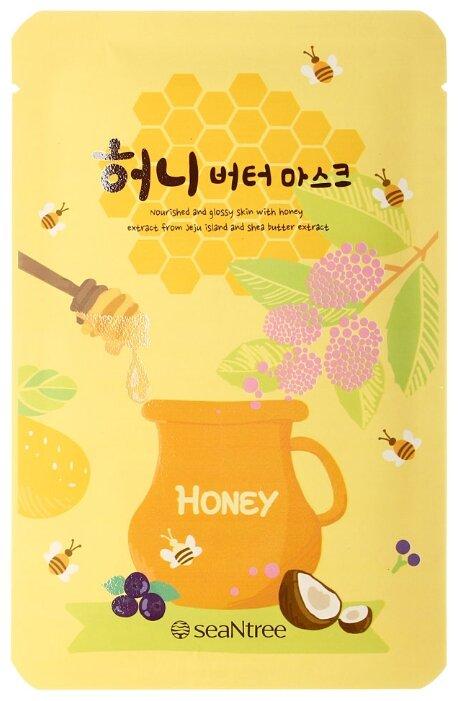 SeaNtree тканевая маска Honey Butter