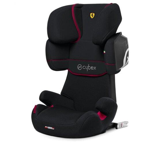 Автокресло группа 2/3 (15-36 кг) Cybex Solution X2-Fix (for Scuderia Ferrari), victory black