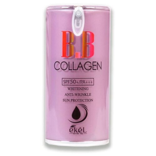 Фото - Ekel BB крем Collagen Pump, SPF 50, 50 мл, оттенок: 23 natural beige витэкс bb крем тонирующий уход spf 15 30 мл оттенок 51 natural