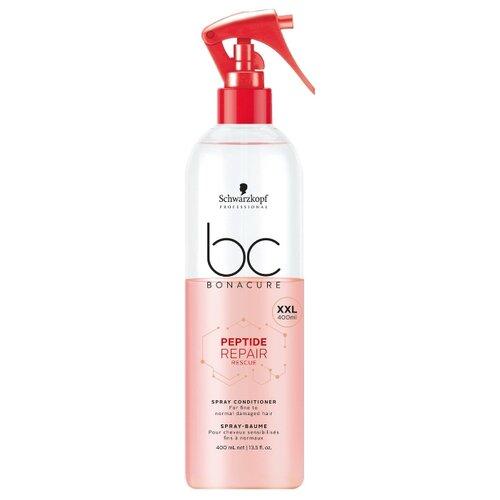 BC Bonacure несмываемый спрей-кондиционер Peptide Repair Rescue для поврежденных волос, 400 мл bc bonacure кондиционер peptide repair rescue 1000 мл
