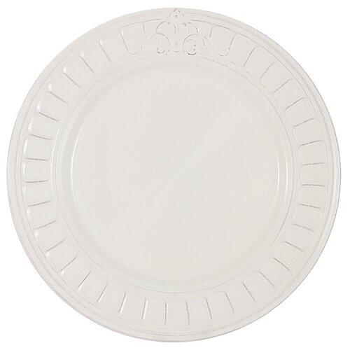 Тарелка обеденная Matceramica Venice (белая) без инд. упаковки, керамика, 27.5 см (MC-F430800005D0053)