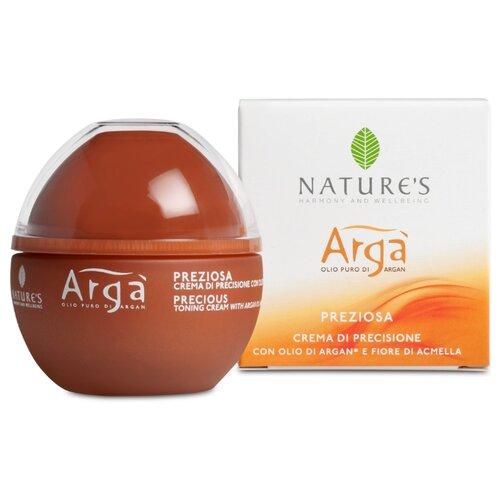 Nature's Arga Precious Toning Cream Крем для лица тонизирующий драгоценный, 50 мл благовония hem precious jasmine драгоценный жасмин 20 палочек