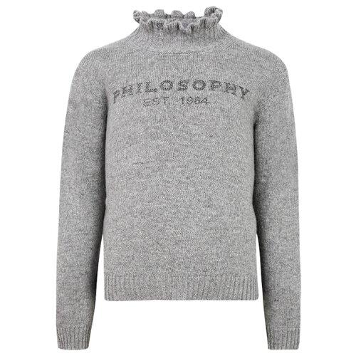 Купить Свитер PHILOSOPHY Di Lorenzo Serafini размер 164, серый, Свитеры и кардиганы