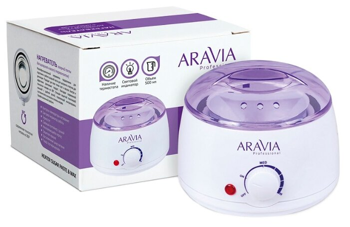 Нагреватель сахарной пасты баночный ARAVIA Professional 8012