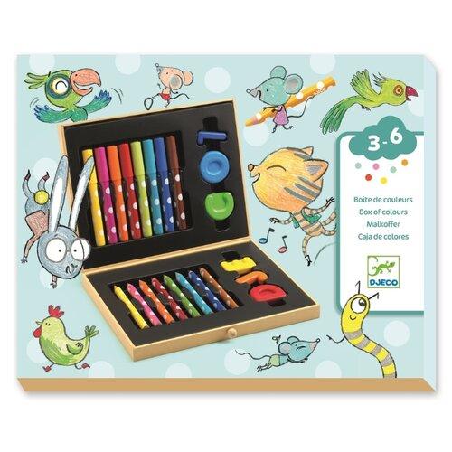 Купить DJECO Художественный набор мини (09010), Наборы для рисования