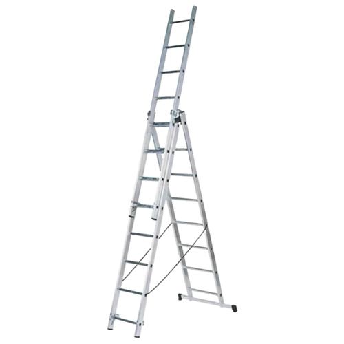 Лестница трансформер 3-секционная FIT 65432