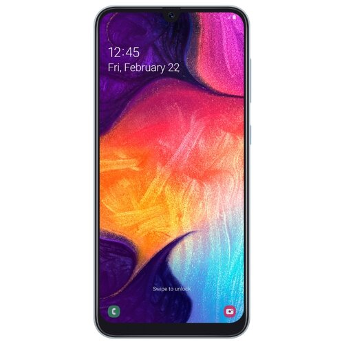 Смартфон Samsung Galaxy A50 64GB белый (SM-A505FZWUSER)