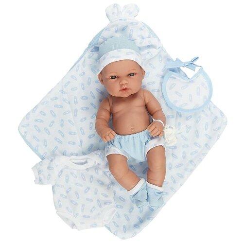 Купить Пупс Arias Elegance в голубом, 33 см, Т16347, Куклы и пупсы