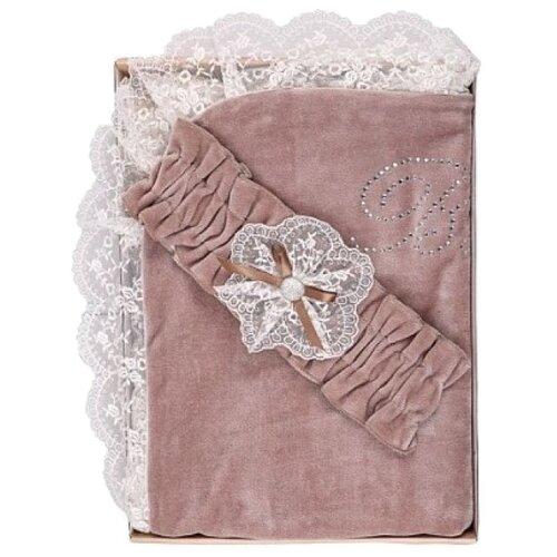 Купить Плед Мой Ангелок Сказка 90х90 см какао, Покрывала, подушки, одеяла