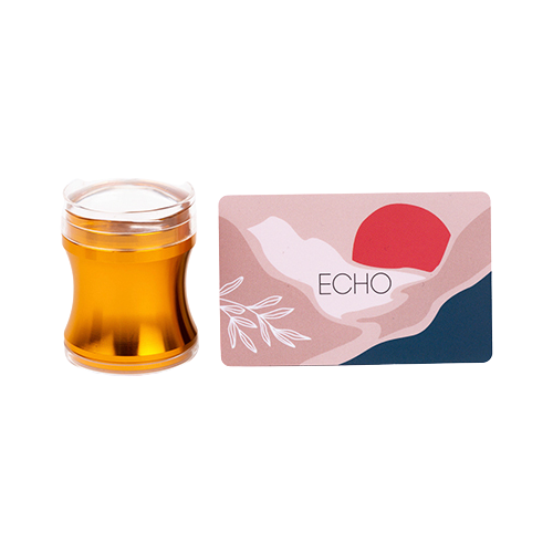 Набор ONIQ Набор Echo Stamper + скребок gold  - Купить