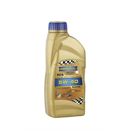 Моторное масло Ravenol RCS Racing Competition Synto SAE 5W-40 1 л