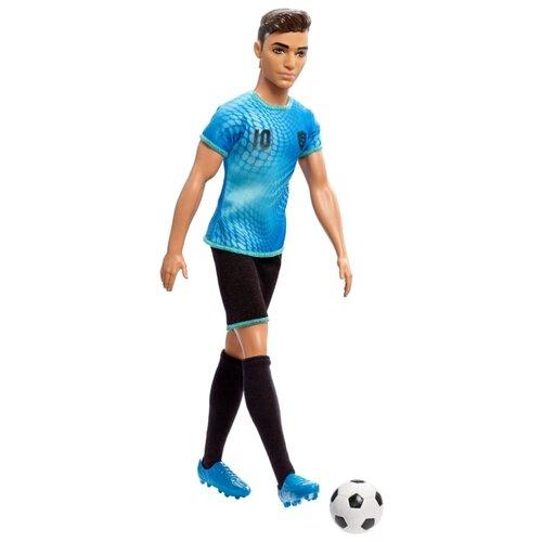 Купить Кукла Barbie Кем быть? Футболист Кен, 29 см, FXP02, Куклы и пупсы