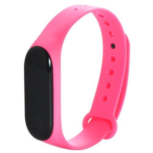Gurdini Ремешок силиконовый для Xiaomi Mi Band 3 розовый