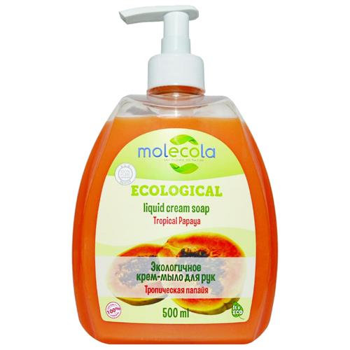 Купить Крем-мыло жидкое Molecola Экологичное Тропическая папайя, 500 мл