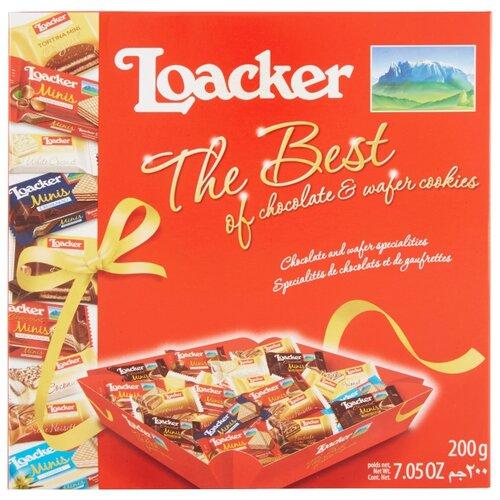 Вафли Loacker The Best набор 200 г
