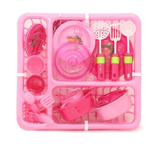 Набор посуды Girl's Club IT100312/GC розовый