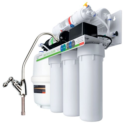 Фильтр под мойкой Prio Новая вода Start Osmos Stream OU580 пятиступенчатый фильтр для воды prio новая вода expert osmos mo530