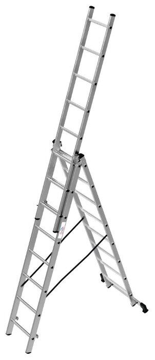 Лестница телескопическая 3-секционная ОЛИМП 1230308 A