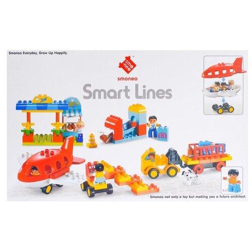 Купить Конструктор Smoneo Smart Lines 77006 Аэродром, Конструкторы