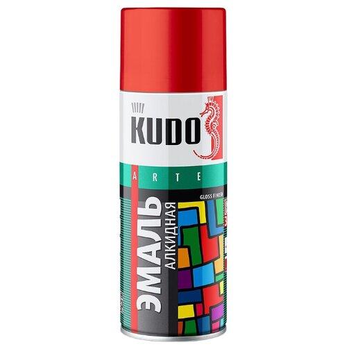 Эмаль KUDO универсальная 3P Technology глянцевая серый 520 мл