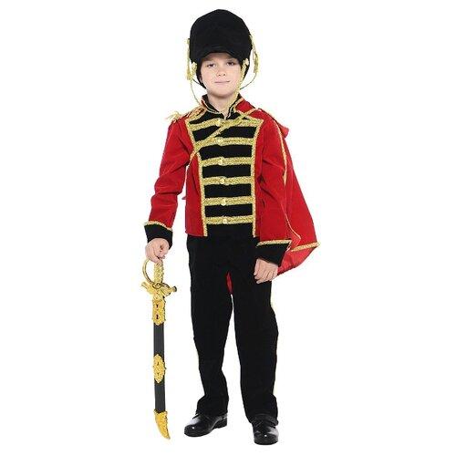 Купить Костюм Батик Гусар (409), красный/черный, размер 128, Карнавальные костюмы