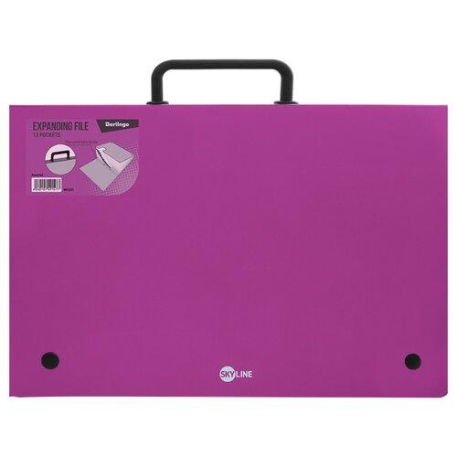 Купить Berlingo Папка-портфель 13 отделений Skyline А4 розовый, Файлы и папки