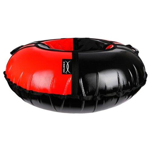 Тюбинг X-Match 581807 (100 см) черно-красный