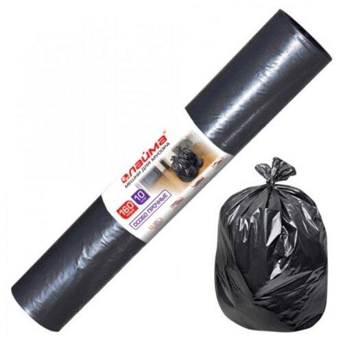 Мешки для мусора Лайма 601798 160 л (10 шт.) черный