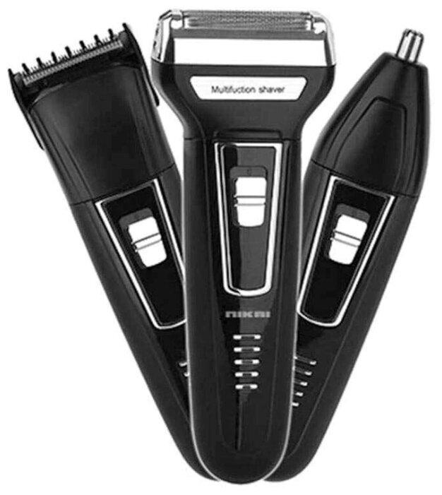 Купить Электробритва мужская триммер для бороды и носа MRM 3 в 1 по низкой цене с доставкой из Яндекс.Маркета (бывший Беру) - Любимым мужчинам