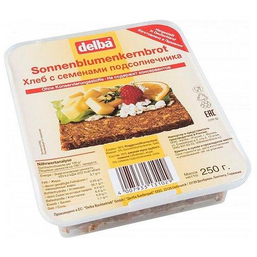 Delba Хлеб с семенами подсолнечника 250 г